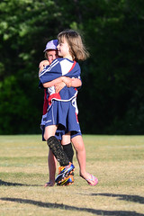 Celebratory Hug (Vegan Butterfly) Tags: soccer football sport sports game fun cute adorable children kids people outside outdoor homeschool homeschooling candid exercise celebrate celebration hug hugging