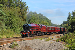 A Royal Return (Treflyn) Tags: stanier princess royal class 462 6201 princesselizabeth southcote junction reading london victoria minehead cathedralsexpress charter overhaul