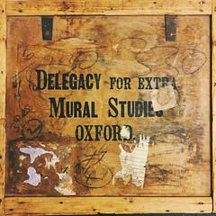 Extra mural studies (264/366) (garrettc) Tags: 365 366 oxford box history mural indianajones