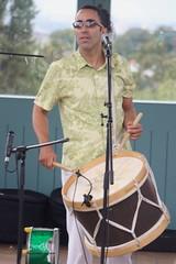 P De Jurema (2016) 06 (KM's Live Music shots) Tags: worldmusic brazil maracatu ciranda forr pdejurema alunascimento alfaia drums festivalofbrasil hornimanmuseum