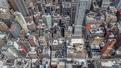 From above (kaifr) Tags: above outdoors birdseyeview buildings city newyork unitedstates us skyscrapers traffic