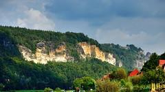 Da oben ist die Bastei - Schsische Schweiz - 3 (JeanM.DD) Tags: europa europe germany deutschland sachsen schsische schweiz bastei felsen canon powershot g15 outdoor landschaft hgel