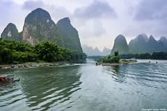 Rio Lijiang (cvielba) Tags: china crucero guilin lijiang montaa rio