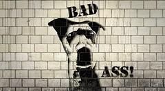 Sophie stencil (odish3) Tags: sophie graffitti pitbull pitbullmix dogs