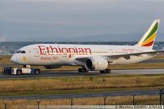 ET-AOP Boeing 787 Ethiopian Airlines (Maxime Spotting Aviation) Tags: etaop boeing 787 7878 ethiopian airlines runway aircraft avion air airways francfort frankfurt airport fra eddf maxime camoujuncas nikon d90
