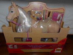 Lusitano Horse from Our Generation (ItalianToys) Tags: toy toys giocattoli giocattolo figure our generation lusitano horse cavallo doll