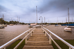Limit (Mariano Colombotto) Tags: yachtclubargentino sanfernando argentina pier muelle wharf ships boats botes barcos clouds nubes nikon landscape river rio water yacht