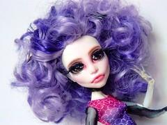 Spectral Disco (Antiphane) Tags: monster high mattel doll poupe ooak repaint repeinte custo cutom