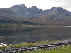 Loch Slapin (Donald Morrison) Tags: isleofskye elgol autumn sun clouds lochslapin sea
