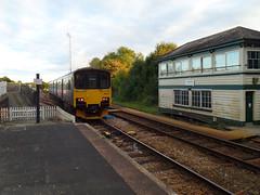150121 Liskeard (3) (Marky7890) Tags: gwr 150121 class150 sprinter dmu 2g78 liskeard railway cornwall train
