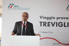 Maurizio Gentile AD RFI (Ferrovie dello Stato Italiane) Tags: rfi trenitalia treno av linea altavelocit treviglio brescia viaggio prova trasporti infrastrutture mauriziogentile