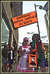comic1 (The_Jon_M) Tags: july 2016 uk england manchester urban greatermanchester comic comiccon gmex peters fields petersfields cartoon street candid teen teens costume cosplay