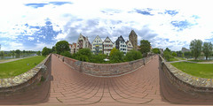 (360x180) Ulm, Germany 9 (Andriy Golovnya (redscorp)) Tags: ulm badenwuerttemberg badenwurttemberg germany oldcity historic landmark architecture building cityscape town city urban panorama equiretangular spherical photosphere 360x180 360 360panorama 360degrees virtualtour tour travel virtualreality vroutside outdors exterior