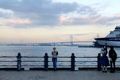 sunset (osanpo_traveller) Tags: tclx100 x100t fujifilm sunset yokohama japan