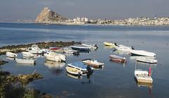 guilas (pelpis) Tags: landscape sealandscape sea aguilas murcia spain places style boat boats blue colour scene beach port fish