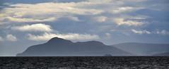MV Caledonian Isles dwarfed by Holy Isle (Russardo) Tags: mv caledonian isles dwarfed by holy isle ferry scotland clyde calmac cal mac macbrayne