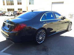 Mercedes S550 (Brown)