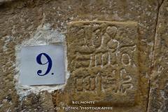 BELMONTE (Jos Mara Gil Puchol) Tags: aragn belmonte chiffre espagne espaa inscripion josmaragilpuchol matarraa mur neuf teruel village villageespagnol