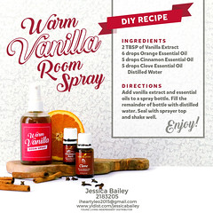 07-Warm Vanilla Room Spray Recipe (Jessica Bailey YLEO) Tags: yleo essential oils young living autumn fall recipes wellness oil oily mom body system support
