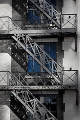steps (Tony Frampton) Tags: fireescape stairs architecture
