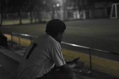soccer night (michelosnaya) Tags: photographs photograpy photo photocanon futbol barrio elbarrio yellow portraitphotography cdmx canon canon50mm 50mm canonyyo soccer mexico dad yellowline deportivo blackandwhite night
