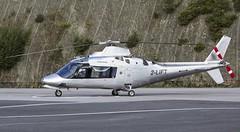2-LIFT Agusta A109A @ Castle Air Charters Ltd, Liskeard, Cornwall. (Cornish Aviation) Tags: 2lift agusta a109a castle air charters ltd liskeard cornwall horningtops heliport helicopter helipad trebrown