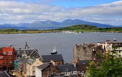 Oban - Scotland (Seb_ND) Tags: sea port oban scotland view