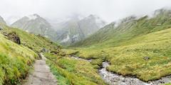 Nepal, Annapurna 2016 DSC05452 Date (Month DD, YYYY)-Pano.jpg (Rayne Chew) Tags: view massifs nature himalaya camp beauty 2016 base kampung annappurna nepal trekking ridge green remote peak mountains valley