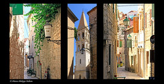 au gr des ruelles de Stari Grad  (philippedaniele) Tags: croatie dalmatie le village ruelles maison glise vividstriking