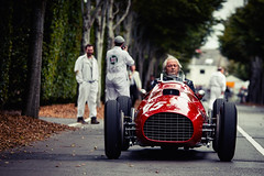 Olav Glasius and Alexander van der Lof - 1950 Ferrari 340 F1 at the 2016 Goodwood Revival (Photo 1) (Dave Adams Automotive Images) Tags: 2016 9thto11th autosport car cars circuit daai daveadams daveadamsautomotiveimages grrc glover goodwood goodwoodrevival hscc historicsportscarclub iamnikon lavant motorrace motorracing motorsport nikkor nikon period racing revival september sussex track vscc vintage vintagesportscarclub davedaaicouk wwwdaaicouk olavglasius alexandervanderlof 1950ferrari340f1 1950 ferrari 340 f1 red formulalibre albertoascari chicolandi