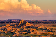 white river valley (Christian Collins) Tags: ef70200mm canon t2i whiteriver valley mesa rio rioblanco badlands sunset shadows evening