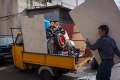 1602089a (Bogdan Szadowski) Tags: italy palermo sicily car outdoor refrubishment relocation removal streetphoto