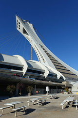 Tour de Montral @ Olympic Stadium @ Montreal (*_*) Tags: montreal mtl canada quebec northamerica 2016 autumn fall automne october city sunny morning hochelaga maisonneuve olympic stadium tower inclined tourdemontreal stadeolympique