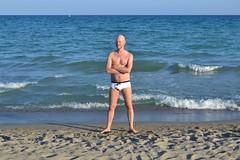 Cagliari (mikael_on_flickr) Tags: cagliari sardegna sardinia sardinien spiaggia strand beach poetto me mikael i io ich moi egl self sea mare hav meer relax summer estate sommer