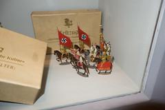 Nazi toy soldiers (quinet) Tags: 2013 allemagne deutschland germany hakenkreuz munichstatemuseum mnchen nsdap rassismus stadtmuseummunich nazi racism racisme svastika swastika munich bavaria