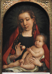 SITTOW Michel,1490 - Vierge à l'Enfant (Budapest) - 0 (L'art au présent) Tags: art painter details détail détails detalles painting paintings peinture peintures 16th 16e peinture16e 16thcenturypaintings 16thcentury detailsofpainting detailsofpaintings tableaux budapest hongrie hungary michelsittow michel sittow belgique belgium flamand flemish vierge garçonlittle boygarçonboypeoplepersonnesfiguresfigureapplepommefruit maternité enfance boy garçon people personnes figures figure apple pomme fruit woman man men hommes jeune enfant madone madona jesus christ bible child virgin femme beauty beauté élégant elegant museum peinturehollandaise dutchpaintings peintreshollandais dutchpainters dutch