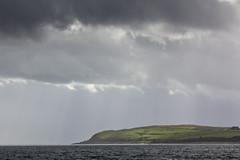 285 - cumb-rays (md93) Tags: 366 clyde largs cumbrae bute rain storm approaching dark sun shadow green sea