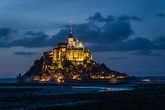 Mont St. Michel (Juan Ig. Llana) Tags: lemontsaintmichel francia normanda arquitectura abada medieval ismo marsma nocturna explore montesanmichel
