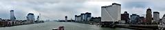 Panoramic Rotterdam (PaaulDvD) Tags: rotterdam colors river maas netherlands boat water city urban