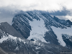 Mountains and glaciers (David R. Crowe) Tags: glacier landscape mountain nature outdooractivities scrambling water kananaskis alberta canada