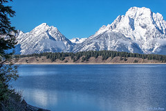 Jackson Lake, Mt. Woodring, and Falling Ice Glacier on Mt. Moran - Grand Teton National Park (Jim Frazee) Tags: jacksonlake mtwoodring fallingiceglacier mtmoran grandtetonnationalpark