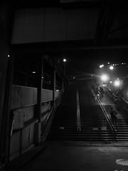 Ikebukuro (MEG/TYO) Tags: tokyo japan ikebukuro toshima olympus xz10 blackandwhite bw night light city