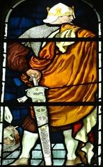 [45660] St Editha, Tamworth : Marmion Windows (Budby) Tags: tamworth staffordshire church window stainedglass preraphaelite