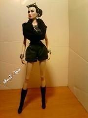 FIERCE ATTITUDE (krixxxmonroe) Tags: ira d ryan photography styling by krixx monroe fashion royalty nu face opium ayumi