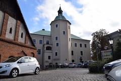 Smell of history (navarrodave80) Tags: historicplace castle windmill downtown city slupsk poland cars nikon d3300 street old buildings