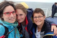Irlande J1 : St-Denis - Stratford-upon-Avon (redjoshuameg) Tags: ferry juliette gal selfportrait with 20160815 j1
