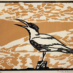 "<b>Shore Cry</b><br/> Orville Running, LFAC# 2012.08.05, Woodcut, Print<a href=""http://farm9.static.flickr.com/8417/8699462974_e0af1dc79b_o.jpg"" title=""High res"">∝</a>"