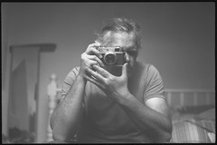 f2.8 30th (fawcetownsley) Tags: zorki blackandwhite bw selfportrait film 1hr lens diy stand bokeh yorkshire fsu rangefinder developer wakefield sw pan rodinal russian schwarzweiss chemicals ilford industar selfie l39 panf 50asa fixer zorki4 v500 semistand 53mm industar26 euromaster ro9 commiecamera screwlens internationalcommunistcameraday 39mmscrew 1to80