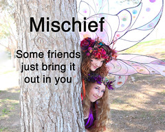Twig the Fairy Mischief (gbrummett) Tags: friends fairy fairies img9120 twigthefairy grantbrummett