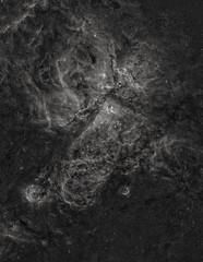 The Carina Nebula in Hydrogen (Astroshed) Tags: Astrometrydotnet:version=14400 Astrometrydotnet:id=alpha20130588550008 Astrometrydotnet:status=solved astronomy astrophotography nebula carina etacarina emissionnebula astroshed space deepspace ngc3293 ngc3324 ngc3372 monochrome luminance hydrogenalpha goldcoast mosaic